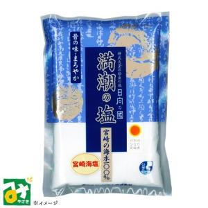 塩 海水塩 満潮の塩 まんちょうのしお 800g 宮崎サンソルト|miyazakikonne