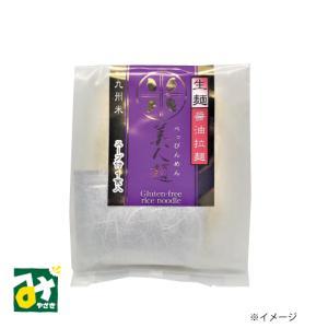 グルテンフリー 米粉麺 醤油ラーメン 美人麺(スープ付 1食入)  川北製麺   miyazakikonne