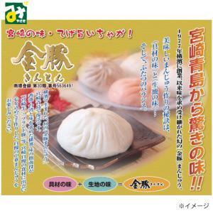 肉まん きんとん 金豚まんじゅう 豚まん 冷凍 常温品冷蔵品との同梱不可 青島食肉食鳥|miyazakikonne
