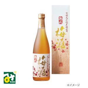 梅酒 リキュール 熟成梅酒 720ミリリットル 化粧箱入 高千穂酒造|miyazakikonne