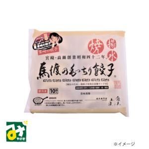 餃子 もっちり 馬渡のもっちり餃子 10個入 冷凍 常温品冷蔵品との同梱不可 餃子の馬渡 4580313843106 miyazakikonne
