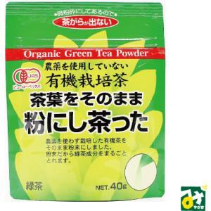 お茶 緑茶 有機粉末緑茶 有機栽培茶 茶葉をそのまま粉にし茶った 井ヶ田製茶北郷茶園 4994089090891|miyazakikonne