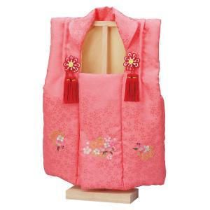 ひな人形 雛人形 雛具 節句 お祝い 2色対応 被布 刺繍付