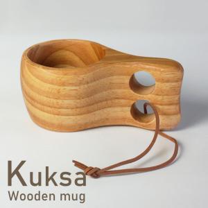 北欧のラップランド地方に伝統的に伝わる木製マグカップ、KUKSA(ククサ)。 職人さんがひとつひとつ...