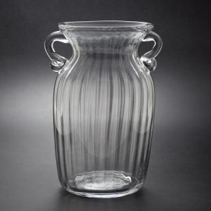 ガラス花瓶 ダブルイヤー クリア フラワーベース 小|miyoshi-ya