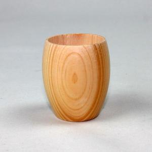 天然檜 粋・ひのき丸ぐいのみ|miyoshi-ya