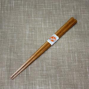 天然木製 箸 八角 栗 21.5cm |miyoshi-ya