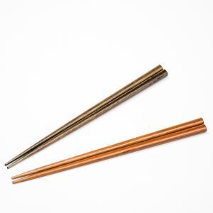 天然木製 箸 染木ナチュラル 19cm 食洗機対応 miyoshi-ya