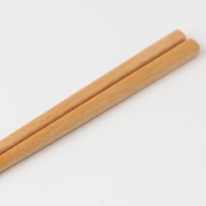 天然木製 ブナの木 箸 ナチュラル 21cm miyoshi-ya