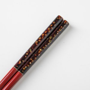 若狭塗箸 古代本塗り若狭 21.5cm miyoshi-ya