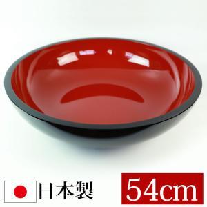 山中塗り 尺8寸 こね鉢 黒内朱 送料無料 miyoshi-ya
