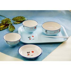 ミッキー お食い初め膳 S6P バルーン ディズニー ミッキーマウス ベビー食器セット 6点セット miyoshi-ya