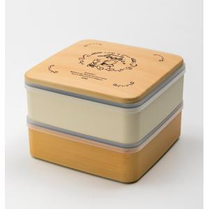 Disney 5.0 プー 2段 重箱