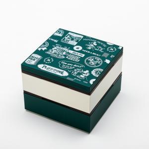 Disney ミッキー BG 4.0 2段 重箱 グリーン