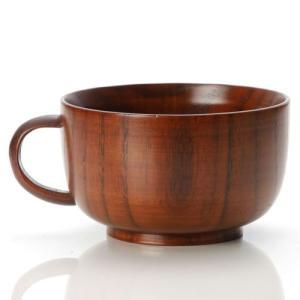 ≪ 品名 ≫天然木製 京型 スープカップ 木目 漆塗り  ≪ コメント ≫手になじむ天然木の温もり。...