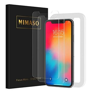 Nimaso【2枚セット】iPhone11 Pro/iPhoneX/Xs(5.8インチ)用 液晶保護...