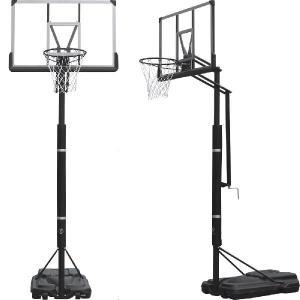 バスケットゴール ミニバスから一般まで楽々高さ調節機能付き