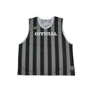 オンザコート ON THE COURT バスケットボール レフリービブス 審判用品【OTRF-007】