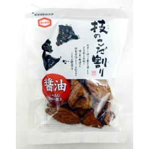 技のこだ割り 醤油せん【亀田製菓】120g 堅焼きせんべい