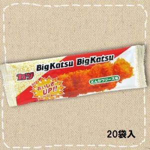華道 ビックカツ 30入り1BOX とんかつソース味 mizota