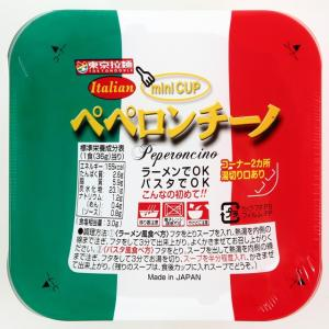 ミニカップ ペペロンチーノ 即席カップ麺【東京拉麺】30個入り1BOX|mizota