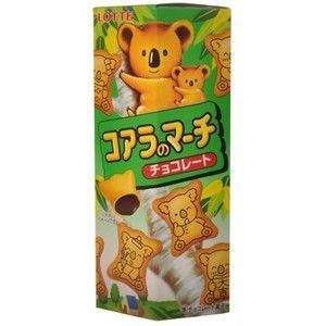 ロッテ コアラのマーチ チョコレート 10個入り1BOX 大人買い 期間限定特価|mizota