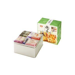亀田製菓 穂の香15 米菓10種詰め合わせギフト缶|mizota