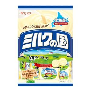 希望小売価格:160円×1袋 (税別)   ミルクたっぷり自然なおいしさ。ミルクの風味豊かな大粒のミ...