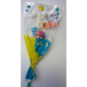 5月5日子供の日・端午の節句 ミニこいのぼり フラワーキャンデー付き(33cm) 30個まとめ売り|mizota