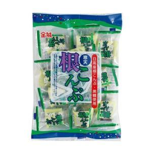根こんぶゼリー 140g(海草寒天・日高産根こんぶ・黒糖使用)【金城製菓】|mizota