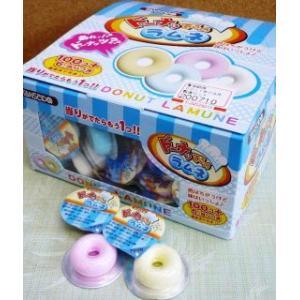 ドーナッてるのラムネ 駄菓子ラムネ 丹生堂 80個入り1BOX 数量限定入荷