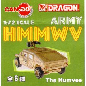 1/72 US ARMY HMMWV 戦車ハンビー【童友社】12個入り1BOX お取り寄せ注文品|mizota