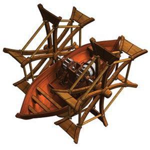 ダヴィンチ発明品作成キット「パドルボート(外輪船)」【童友社】お取り寄せ注文品|mizota