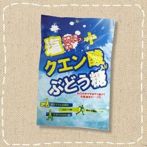 塩クエン酸入りぶどう糖 20個包装【大丸本舗】熱中症対策にも!|mizota
