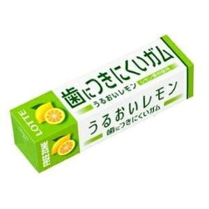 歯につきにくいガム フリーゾーンガム うるおいレモン 15本入り1BOX ロッテ|mizota