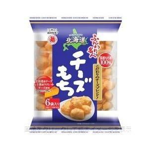 越後製菓 ふんわり名人 チーズもち 85g 6袋詰 国産米を...