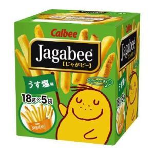 カルビー Jagabee じゃがビー うすしお味 90g×1...