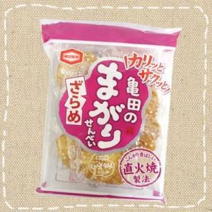 亀田のまがりせんべい ざらめ 12枚【亀田製菓】