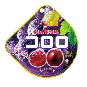 コロロ グレープ 48g×6袋入り12BOX【UHA味覚糖】果実のような新食感グミ 大量72袋卸特価