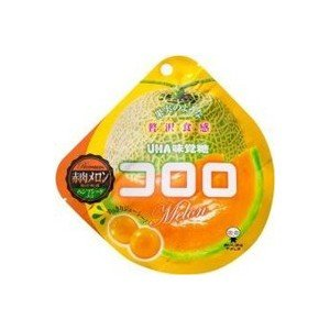 コロロ 赤肉メロン 40g×6袋入り1BOX【UHA味覚糖】果実のような新食感グミ