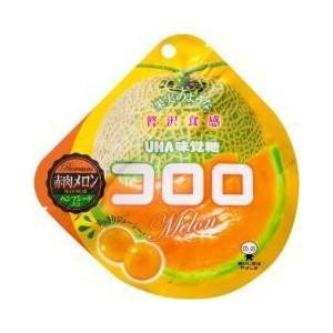 コロロ 赤肉メロン 40g×6袋入り5BOX【UHA味覚糖】果実のような新食感グミ