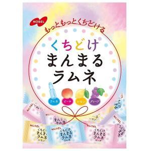 まんまるラムネ 80g×6袋 袋タイプ【ノーベル製菓】