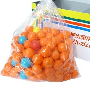 チーリン製菓 詰替用マーブルガム 120個+35個(合計155個)×6BOX 業務用 特売 リリーの押し出しガムの補充にも mizota