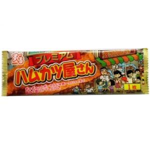 ハムカツ屋さんプレミアム 20枚入り 駄菓子 珍味【すぐる】|mizota