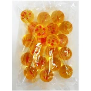 スーパーボール スター★オレンジ 45mm 20個入り スーパーボールすくいに イベント景品に大人気|mizota