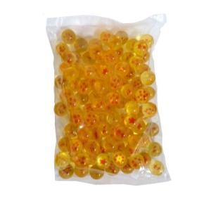 スーパーボール スター★オレンジ 27mm 100個×5袋 スーパーボールすくいに イベント景品に大人気|mizota