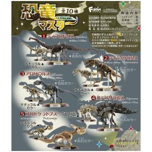 恐竜マスター 10個入り8BOX 全10種 エフトイズ 2020年12月14日発売予定 海洋堂 造形企画制作|mizota