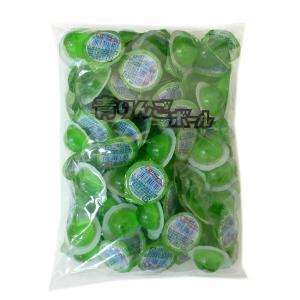 青りんごボールゼリー 100個入×30袋(3000個) カップゼリー 代引き不可 駄菓子【江口製菓】 mizota