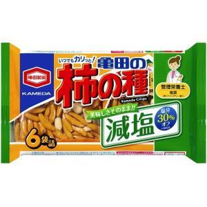 亀田の柿の種 182g 減塩 6パック小袋詰 卸販売【亀田製菓】|mizota