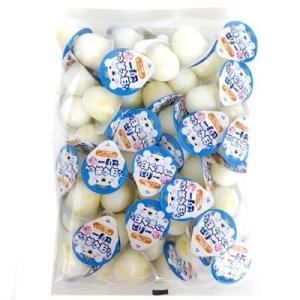ミニゼリー プチ白くまくんゼリー 練乳風味 16g×50個入 12袋 【金城製菓】業務用 徳用袋|mizota